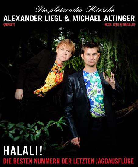 Alexander Liegl und Michael Altinger: Die platzenden Hirsche